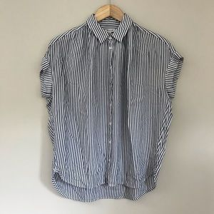 Madewell Central Shirt in Gabriel Stripe XS A4